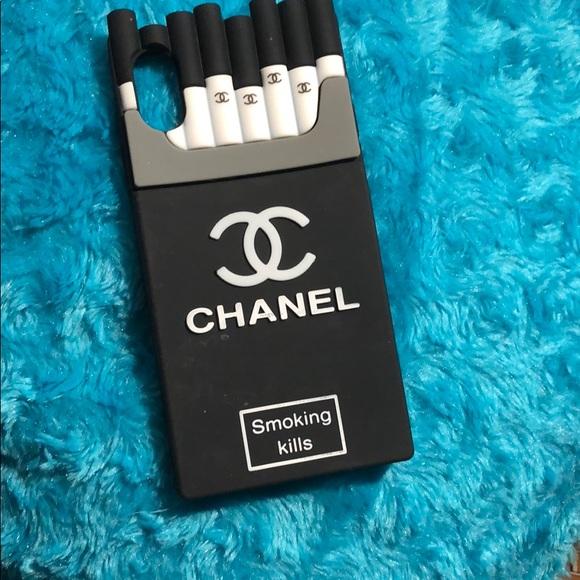 buy popular 72120 31ce1 Chanel cigarette iPhone X case